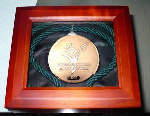 Premio Nacional al Voluntariado 2007