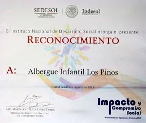 Sedesol - Impacto y compromiso social 2016