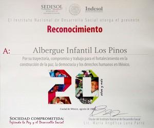 Sedesol - Sociedad comprometida 2016